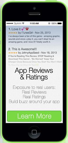 App Reviews & Ratings