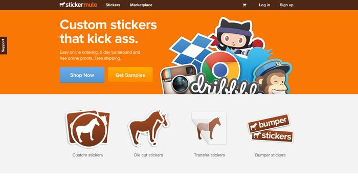 Swag Tools StartupResourcesio - Order custom stickers online