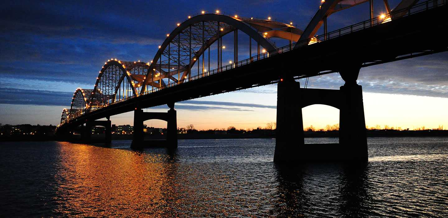 Bridge over the Mississippi River