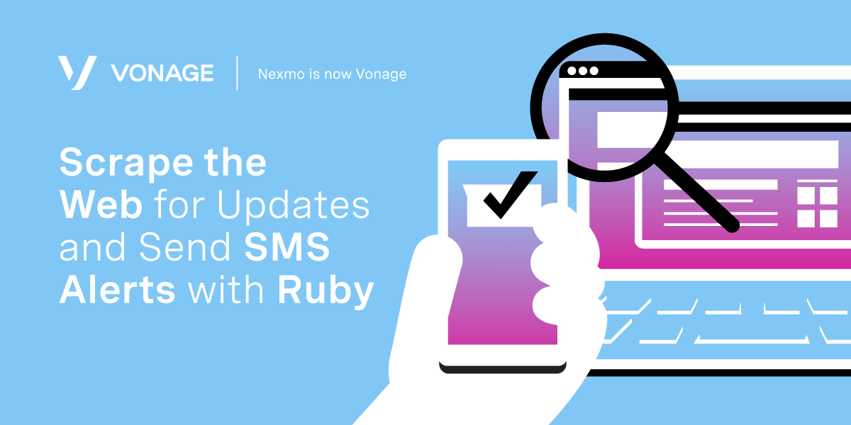 Scrape the Web for Updates and Send SMS Alerts with Ruby
