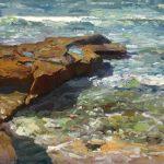 Rocks on the Reef 12 x 16