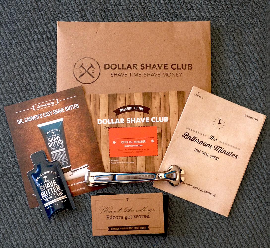 Dollar shave club iii