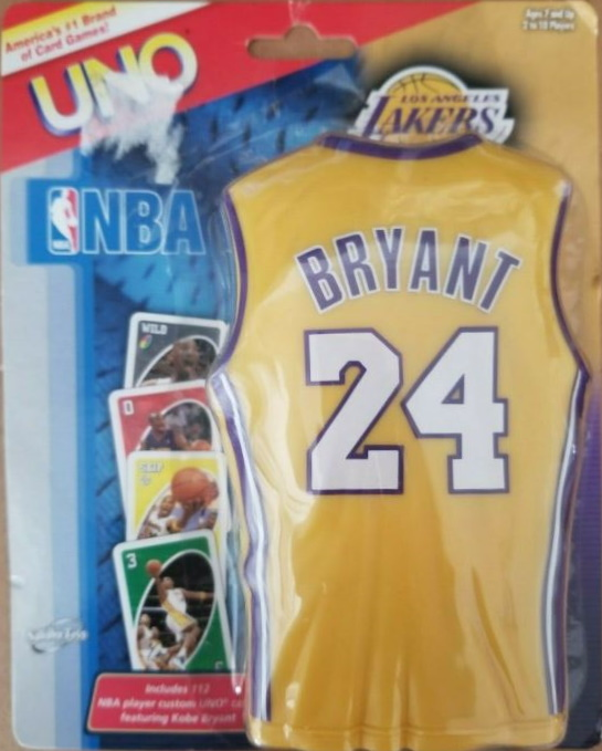 Los Angeles Lakers Uno: Kobe Bryant