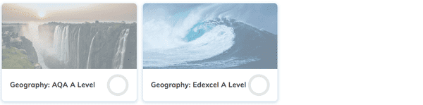 Geography A Level Revision Course