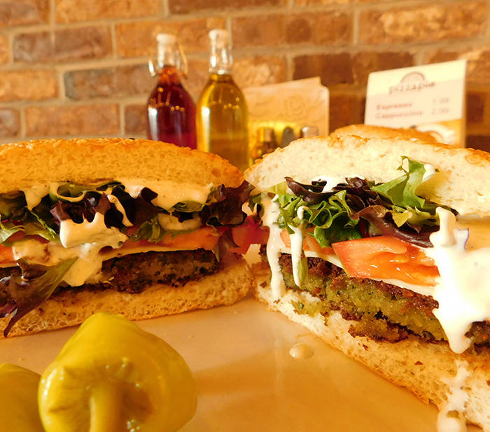 PizzaPie in Plainville & Cromwell - Cheese Burger