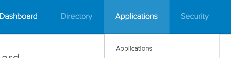 Applications Button