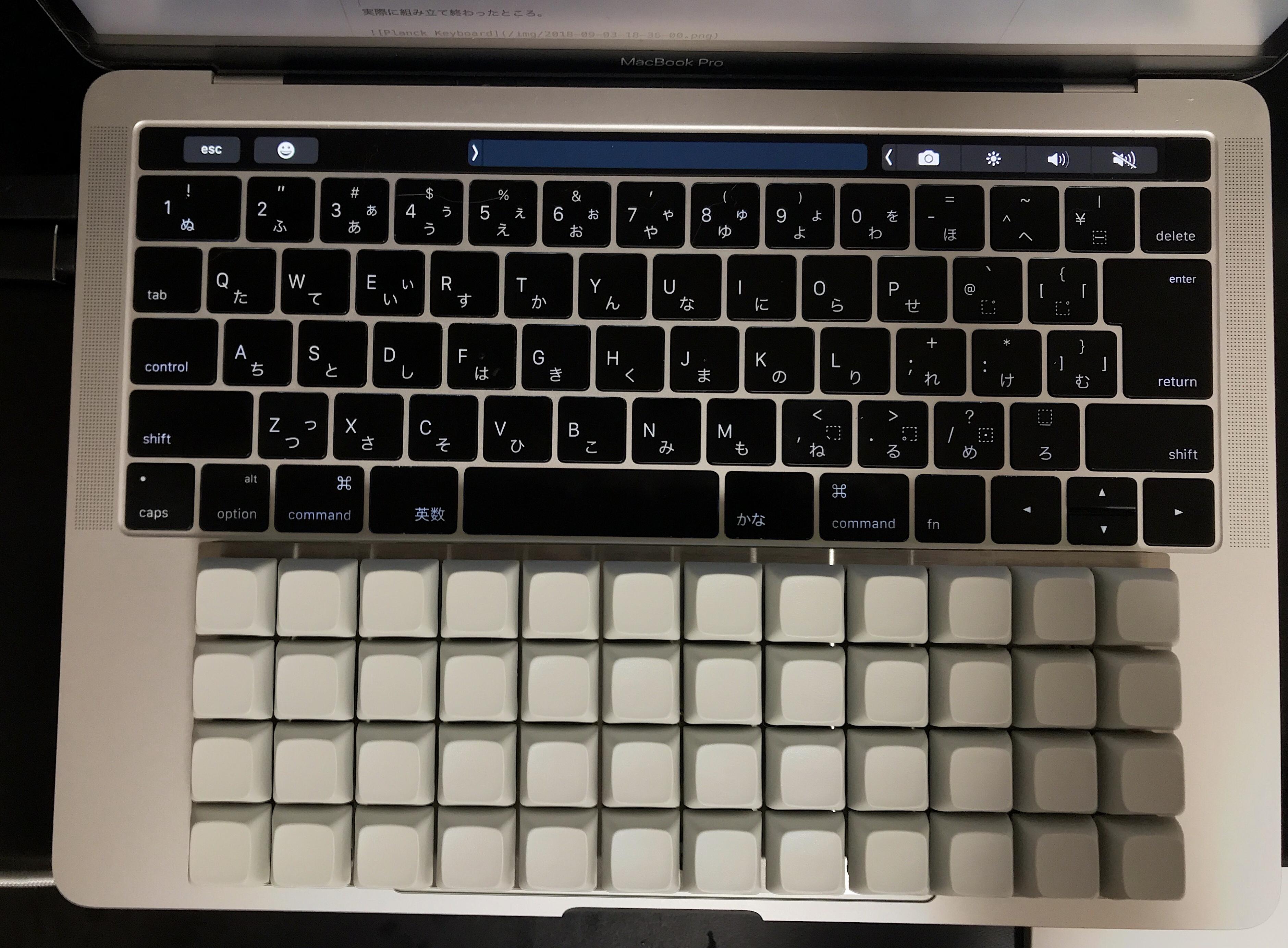 非常にコンパクトなPlanck Keyboard