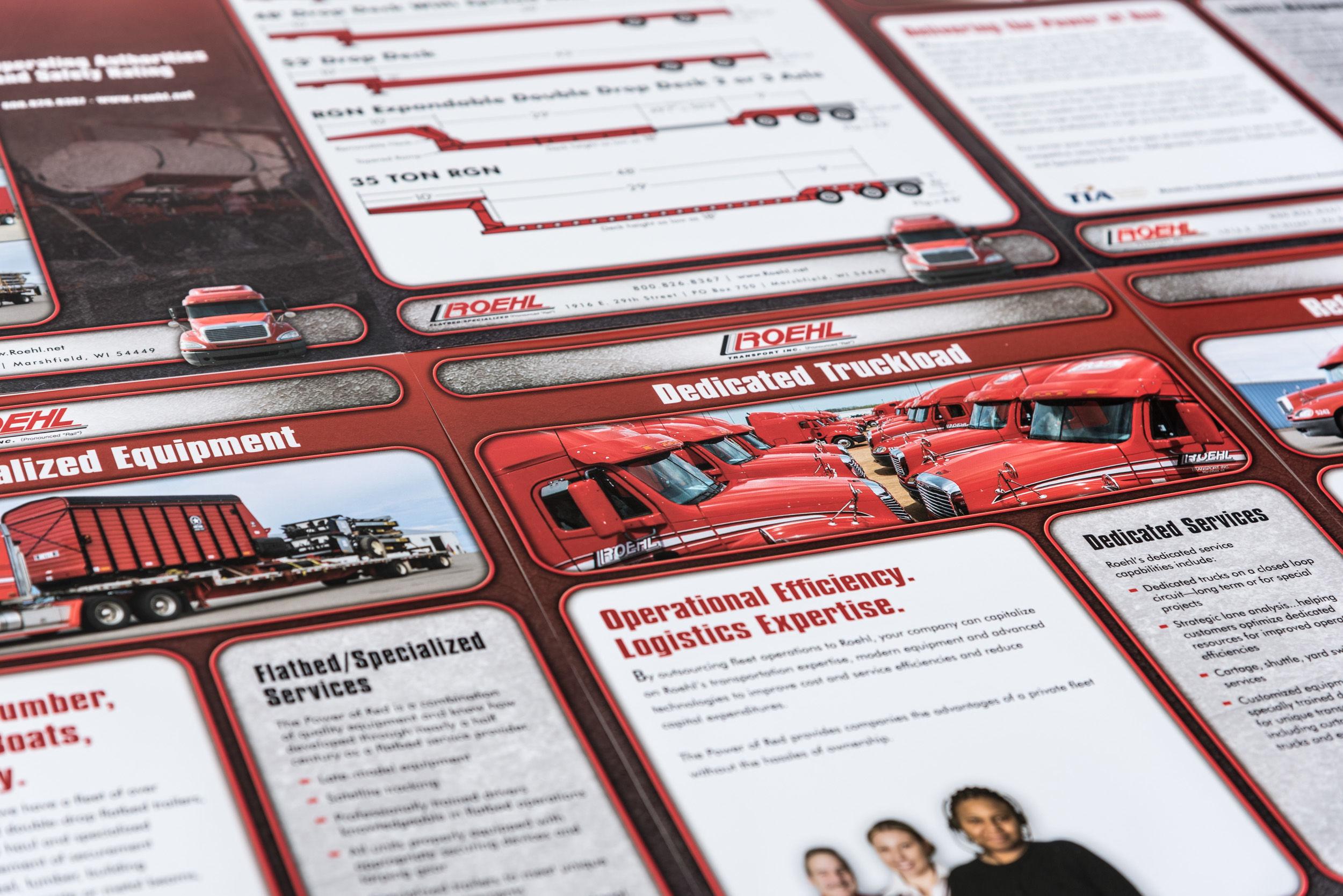 Roehl Brochure Sheets
