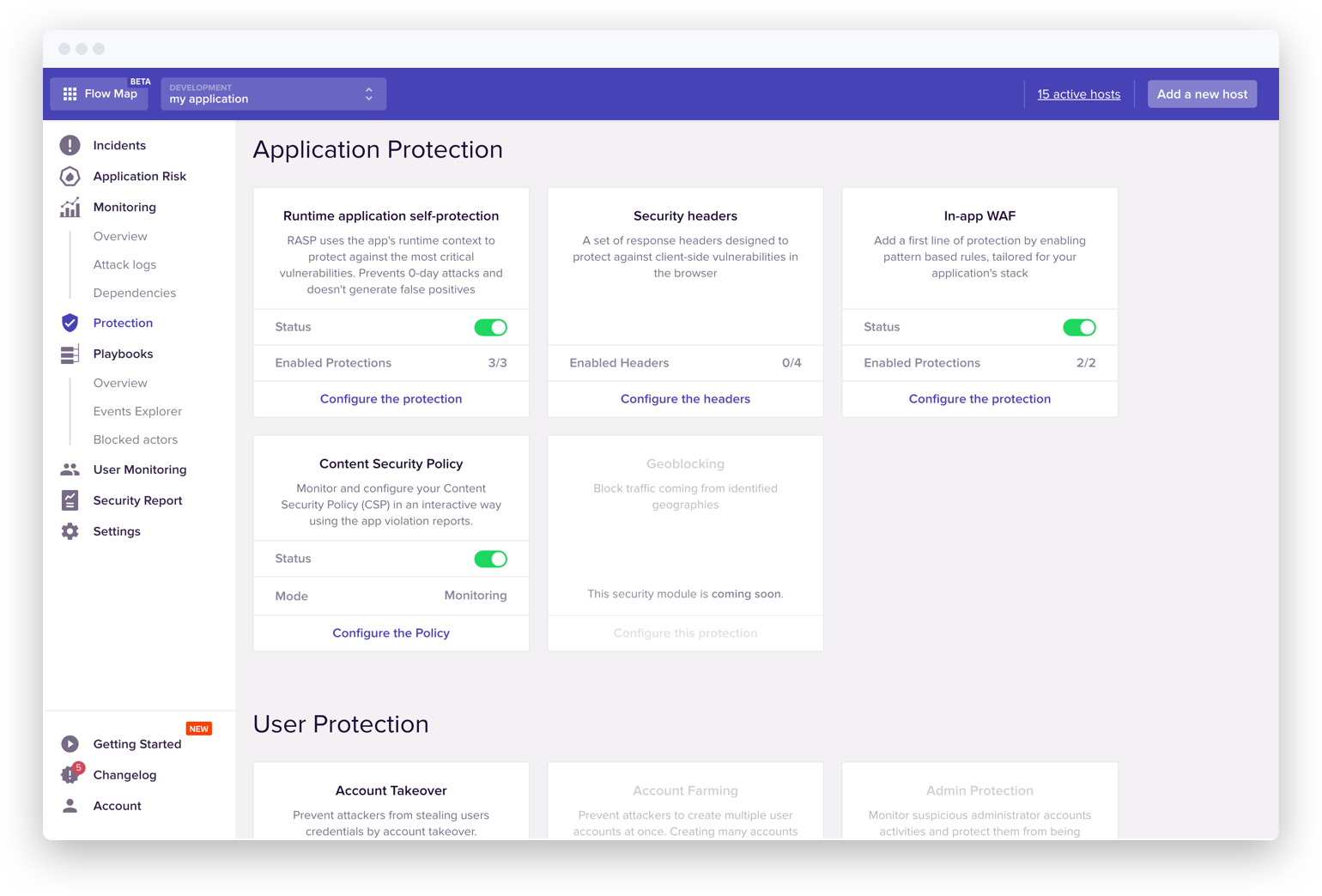 Protection modules