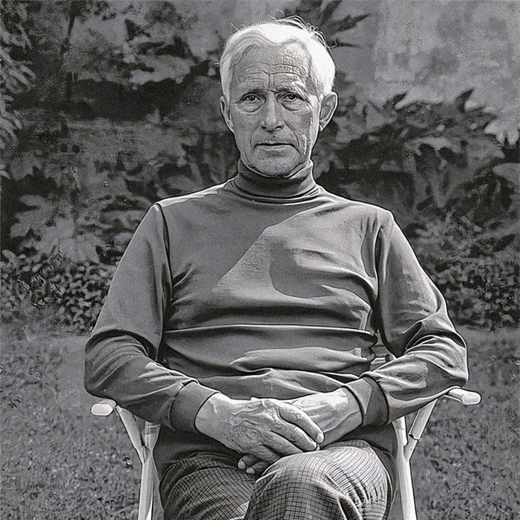 Эрнст Юнгер, 1970год. Источник: Ullsteinbild / Keystone
