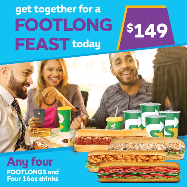 FOOTLONG Feast