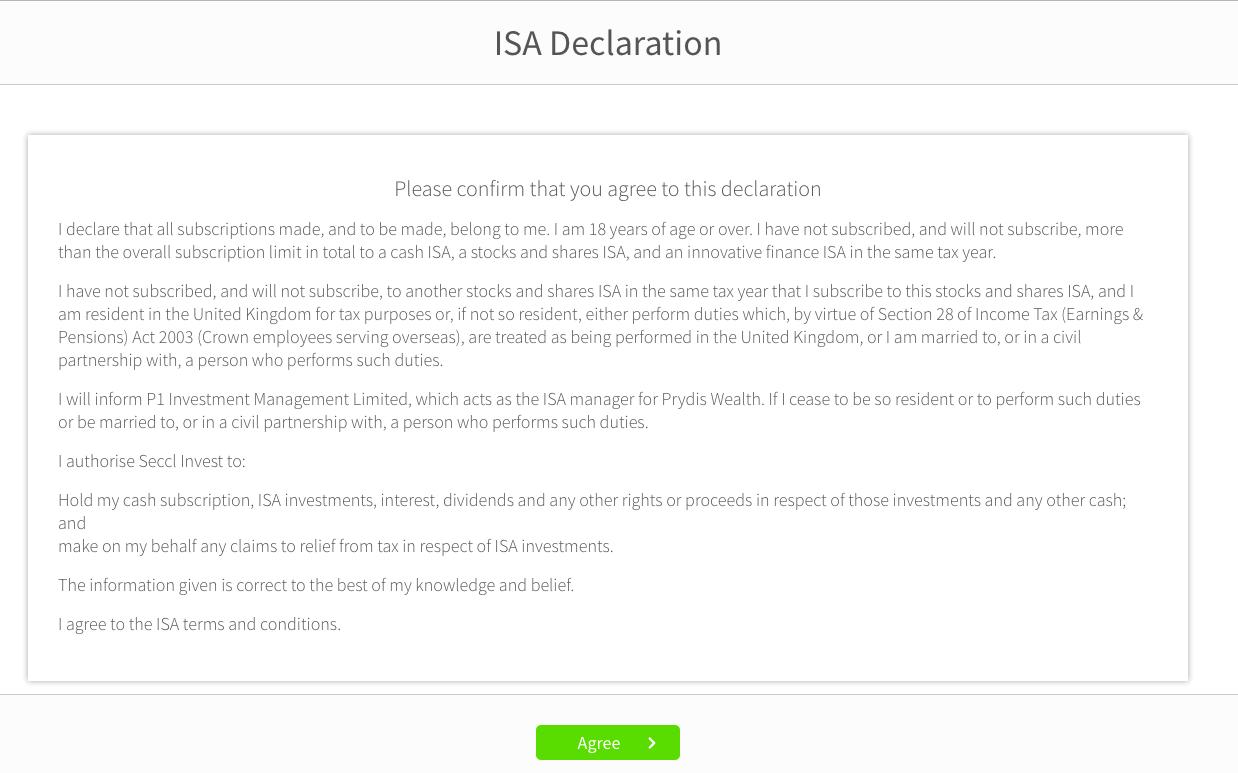 ui ISA declaration