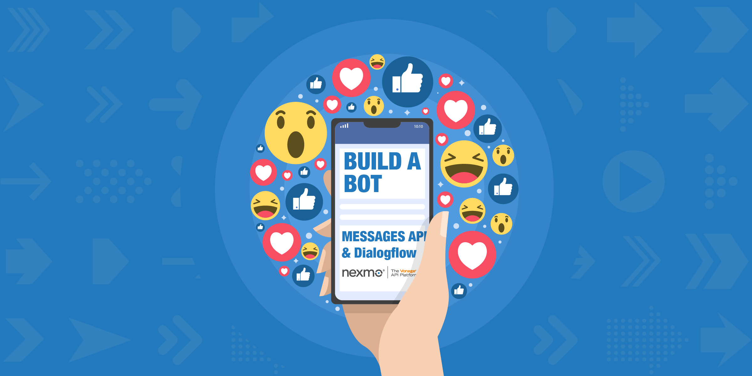 Build a Facebook Messenger Bot with Messages API and Dialogflow