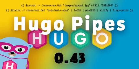 Featured Image for And Now: Hugo Pipes!
