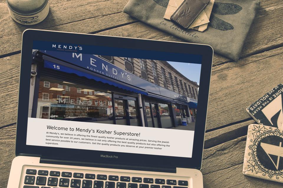 Mendy's Website