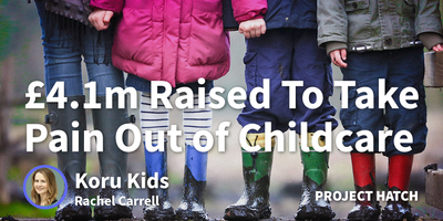 featured image thumbnail for post £14m Raised To Take The Pain Out Of Childcare