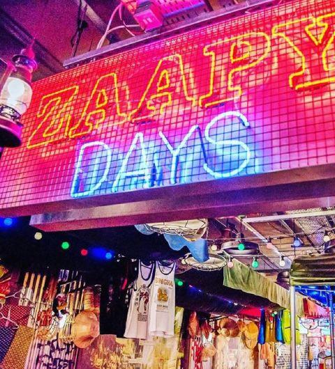 Zaap Thai Leeds Neon sign