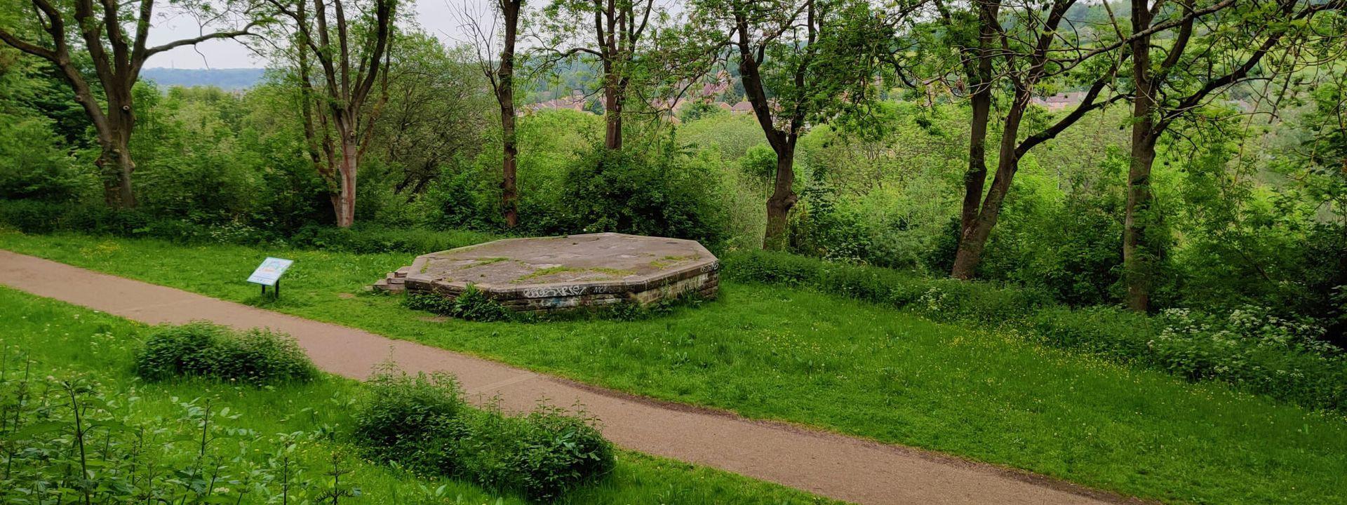 Woodhouse Ridge bandstand