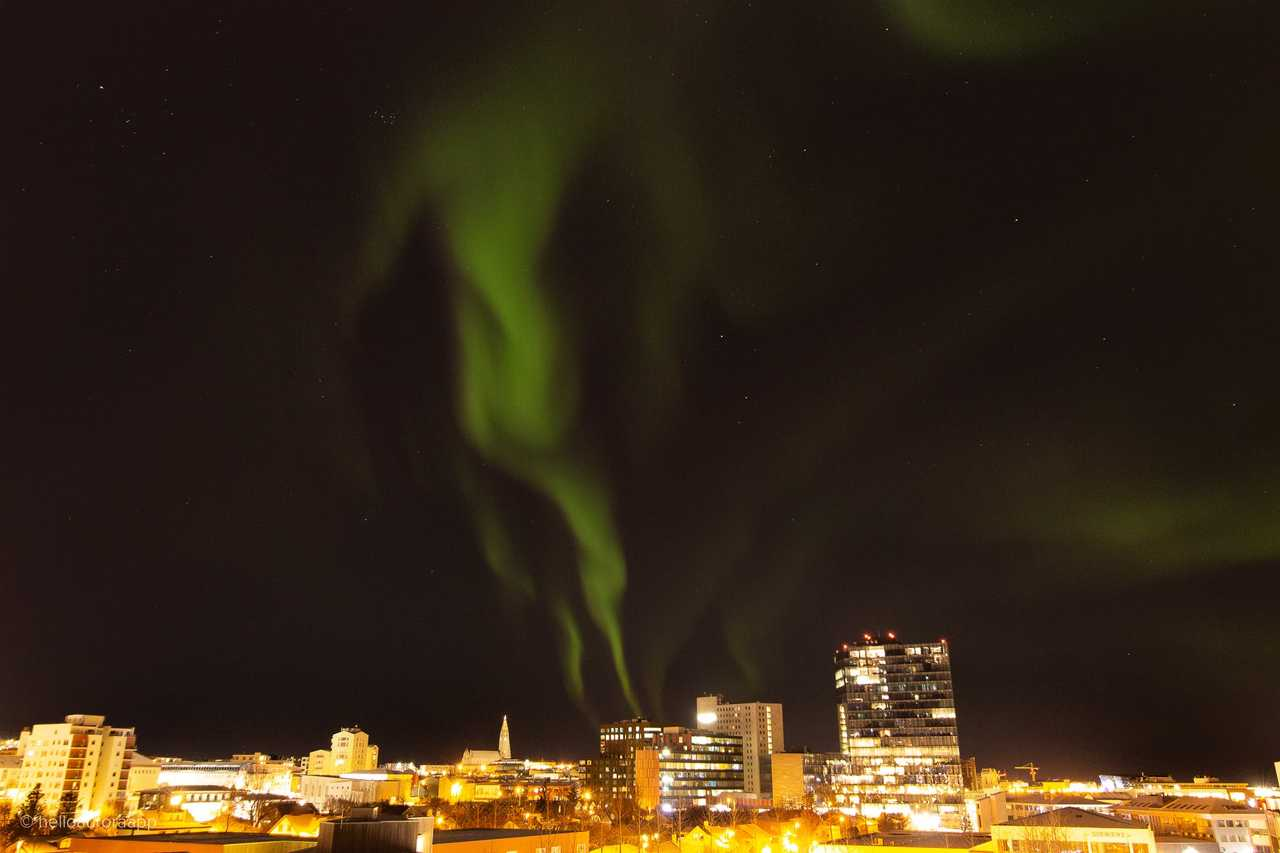 Reykjavík - most spotted Northern Lights locations's cover picture