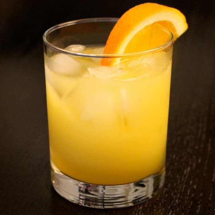 Caribbean Orange Liqueur Cocktail
