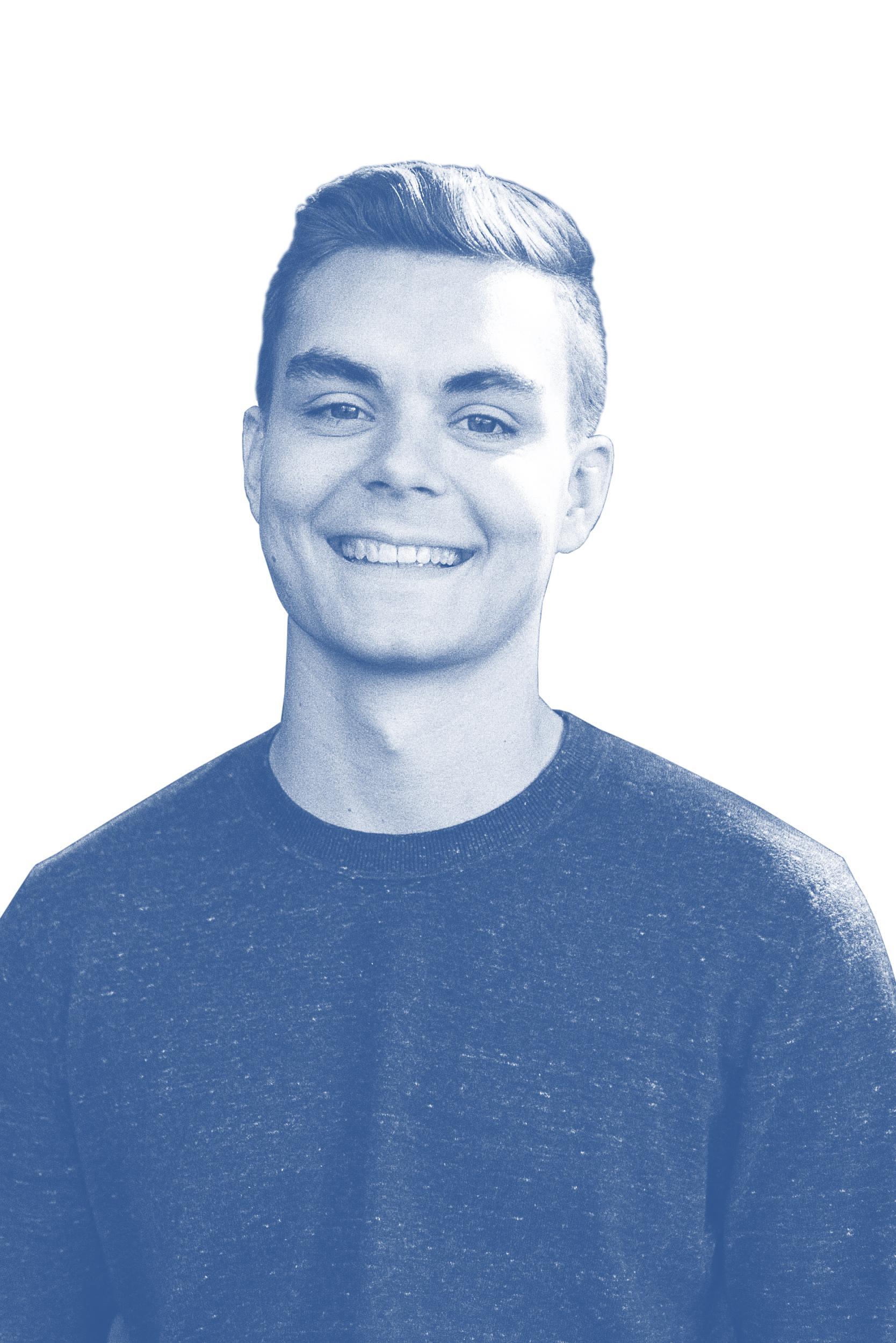 Ein Porträt von Nick Heubeck