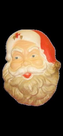 Santa Face Plaque photo