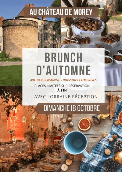 Brunch d'automne au Château de Morey