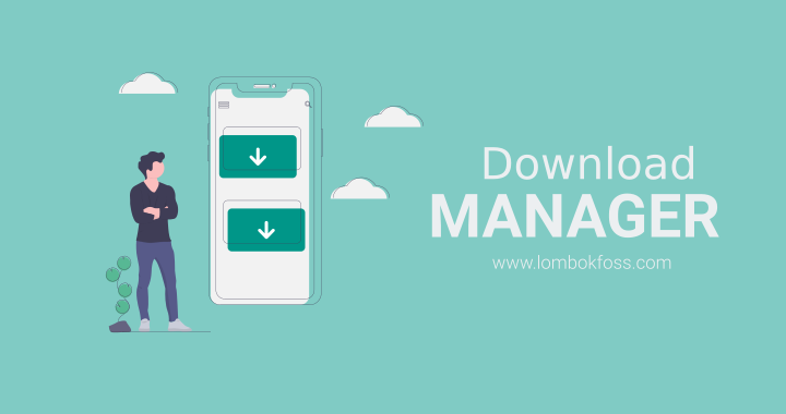 Download Manager di Linux
