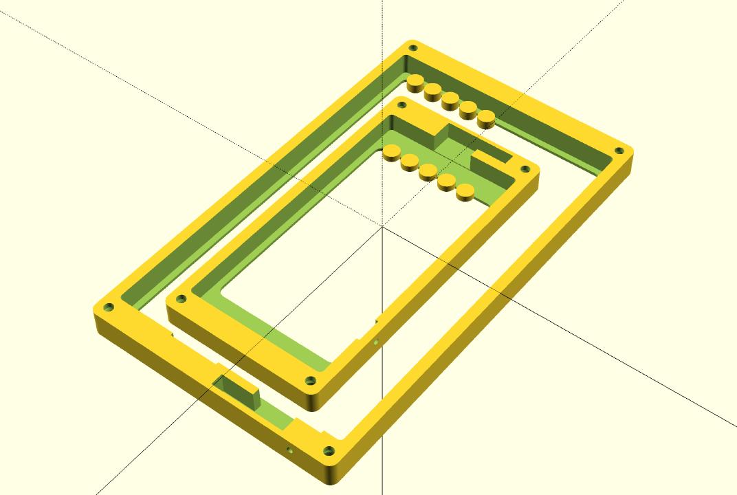 OpenSCAD 3D render