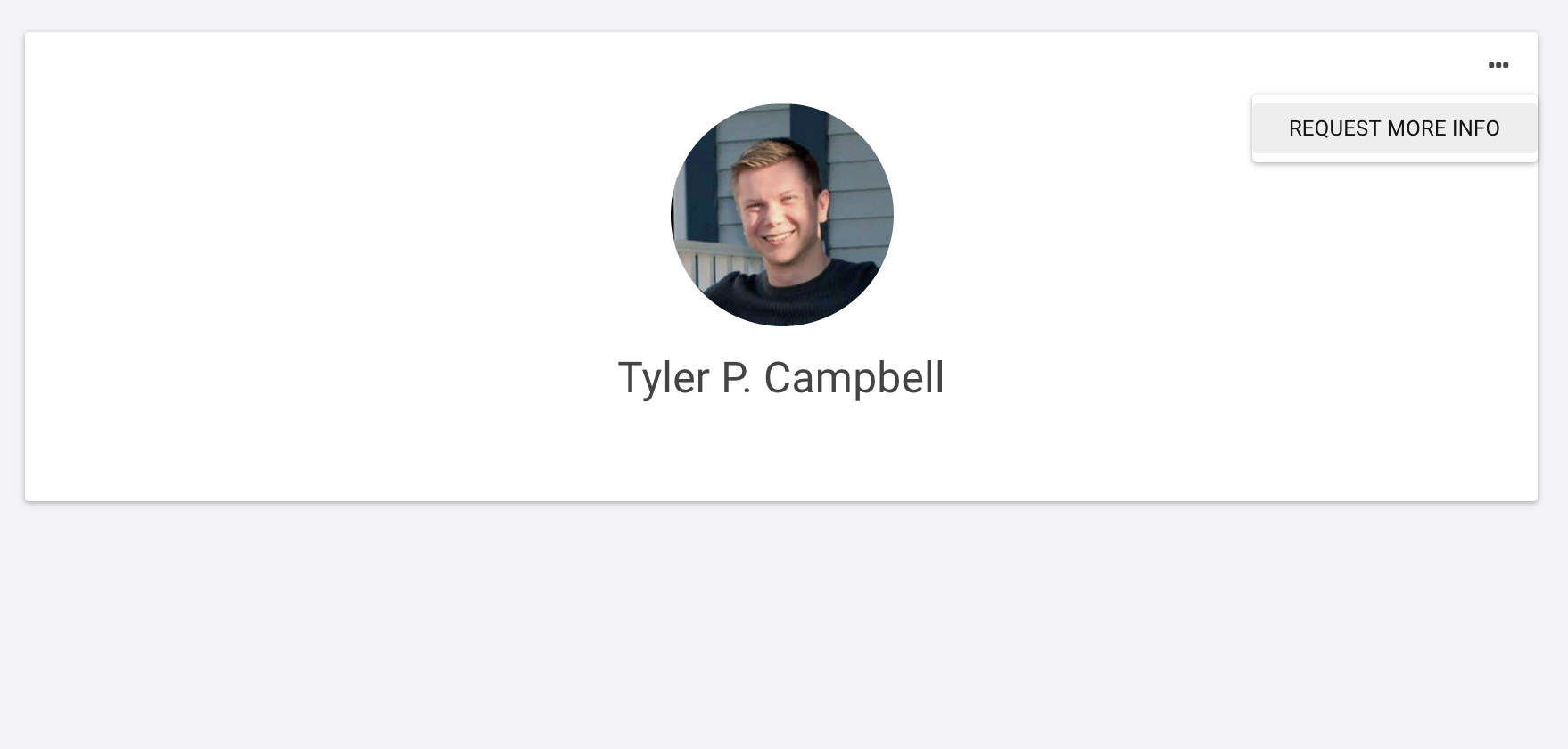 Tyler Campbell raw profile