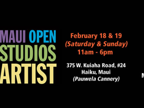 Youre Invited Join Us for Maui Open Studios Tour
