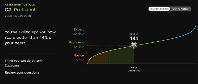 C# Skill IQ