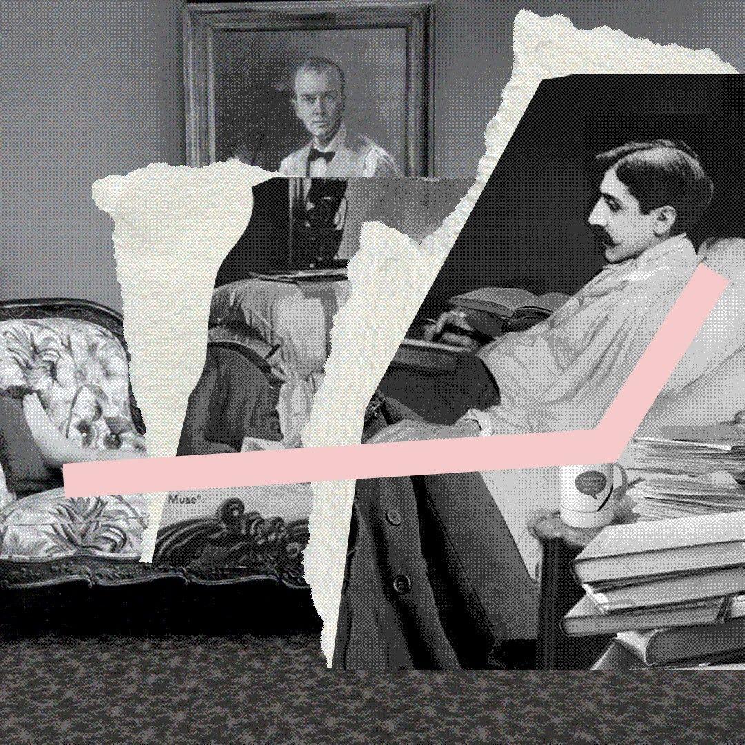 Марсель Пруст. Иллюстрация: Букмейт
