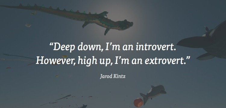 deep down i'm an introvert