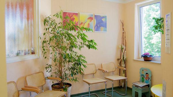 Zahnarztpraxis Wartezimmer