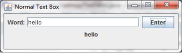 Displaying user input