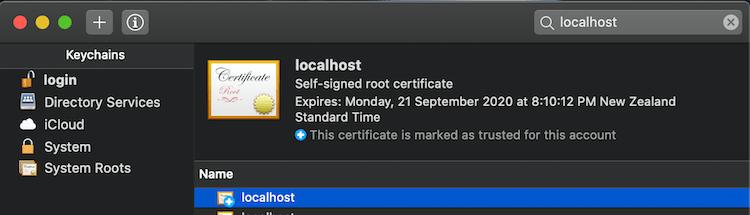 OSXCertificate