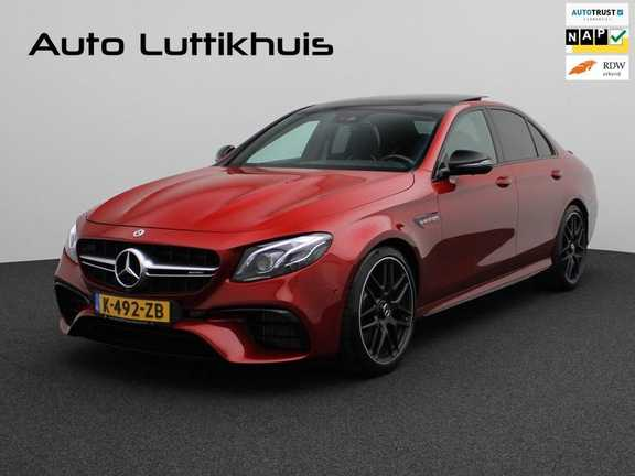 Mercedes-Benz E-Klasse 63 S AMG 4Matic-plus|kuipstoelen|pano|carbon