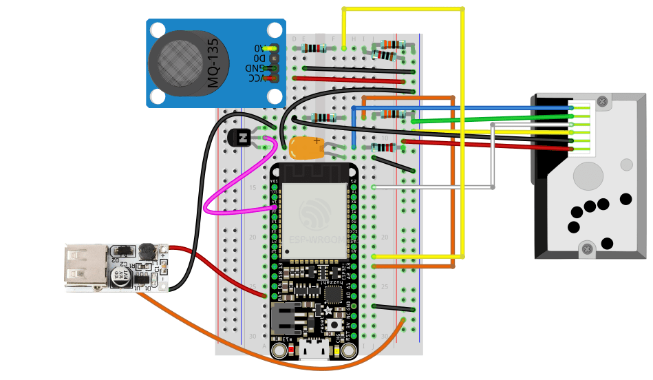 Arduino Air Quality Sensor