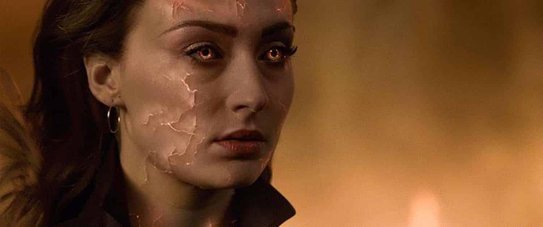 Sophie Turner como Jean Grey em X-Men: Fenix Negra da Fox Films