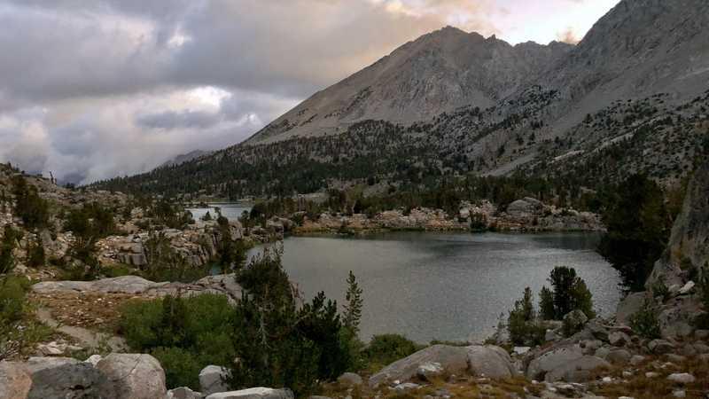 Leaving Rae Lakes