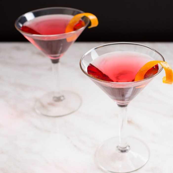 Cosmopolitan Martini Cocktail