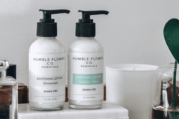 Humble Flower Co.CBD Soothing Lotion