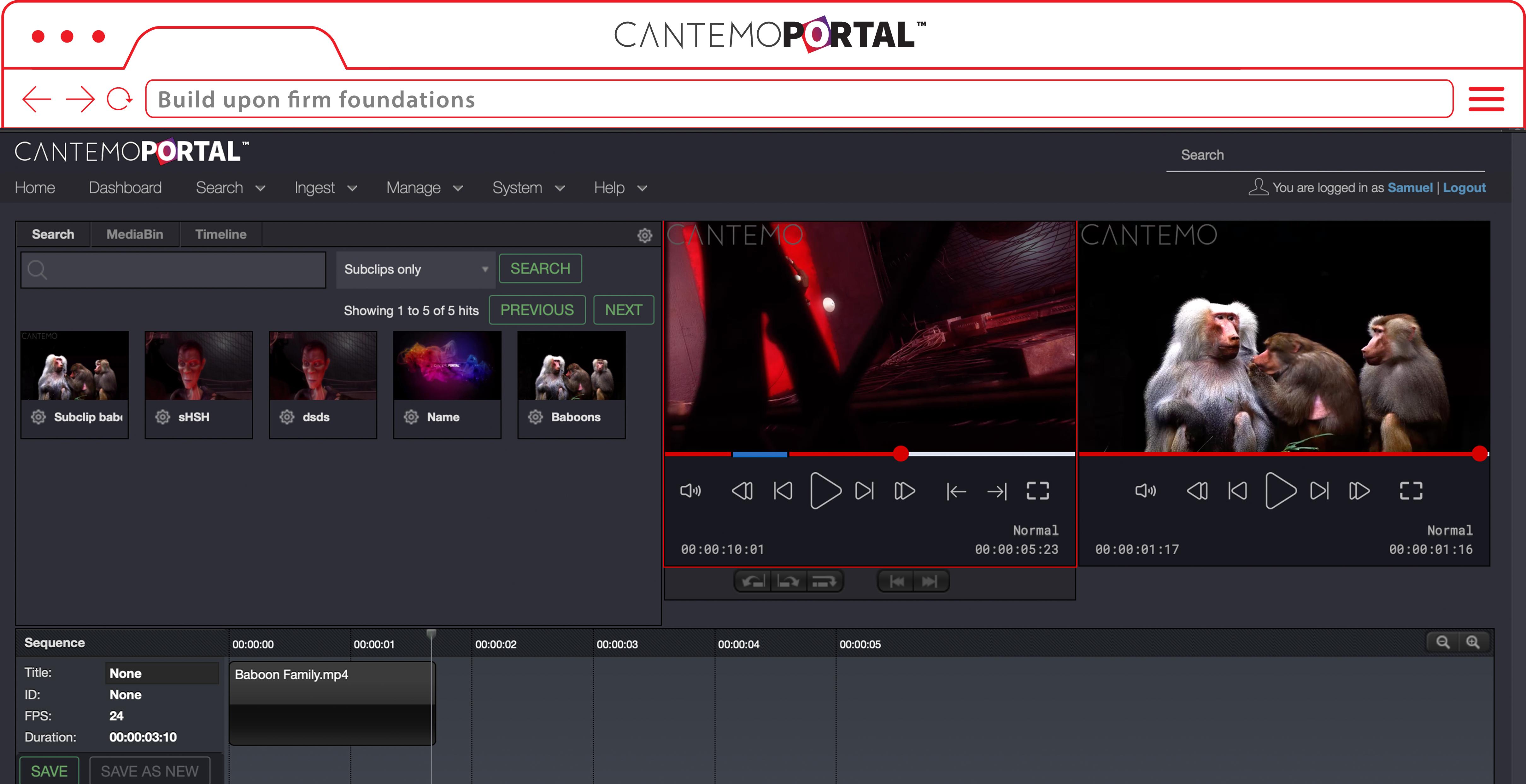rough cut editor screenshot