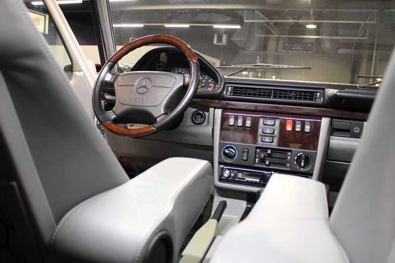 Mercedes-Benz G-Klasse 500 fabrieks 55-uitgev. Youngtimer aut. 7-zits afbeelding 15