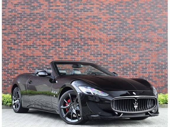 Maserati GranCabrio 4.7 Sport *Bose*Rood stiksel*
