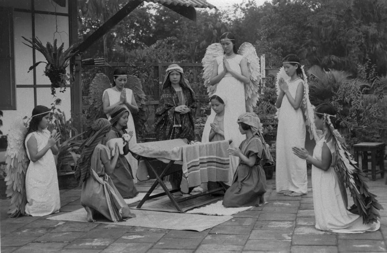 Nativity play, 1930s