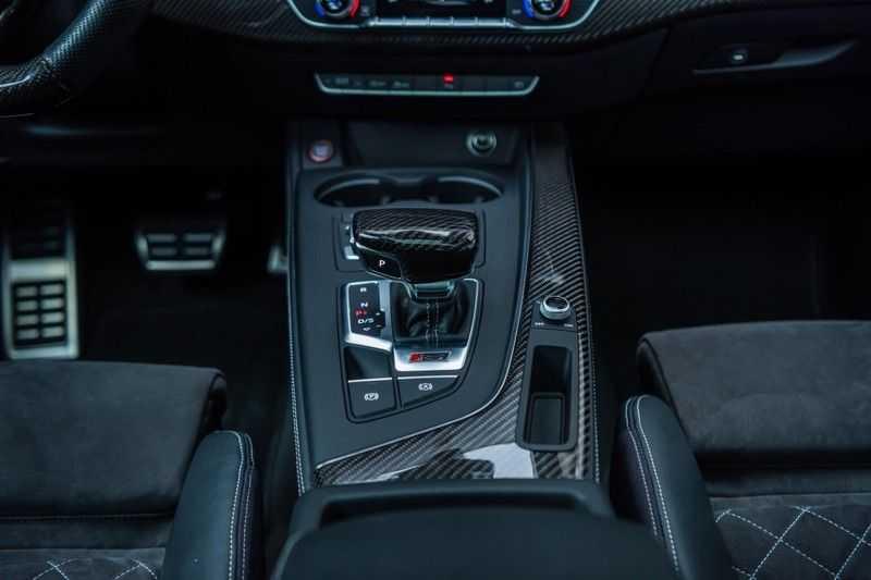 Audi RS5 Coupé 2.9 TFSI Quattro Pro Line Plus, 520 PK/JD, Full Capristo-R, Full Carbon, 20'' BBS Wheels, Pano/Dak, 52DKM!! afbeelding 13