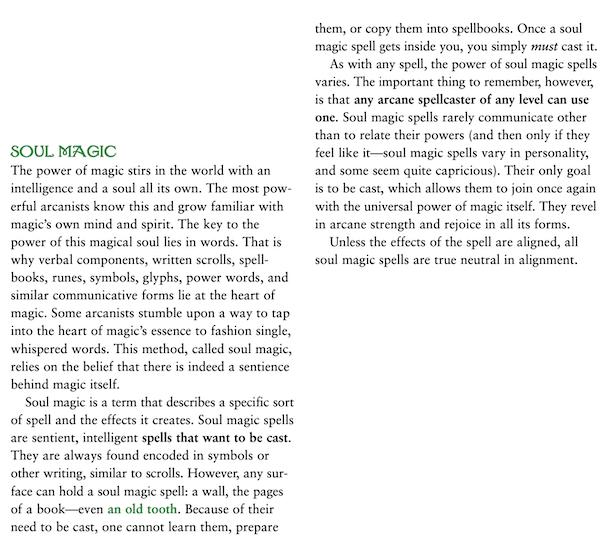Ptolus Soul Magic