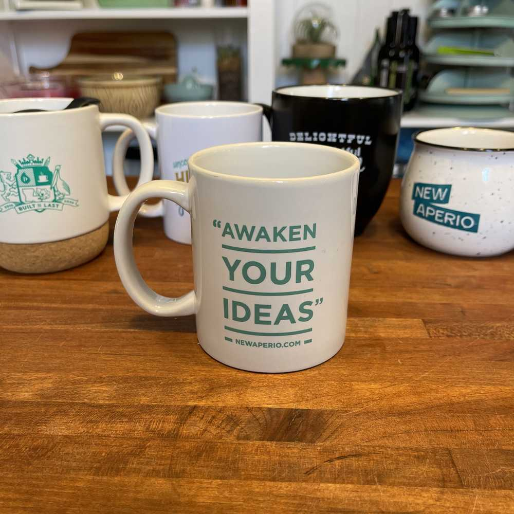 NewAperio - Awaken Your Ideas coffee mug